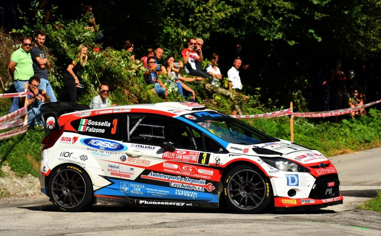 Manuel Sossella, Gabriele Falzone (Ford Fiesta WRC #3, Palladio)