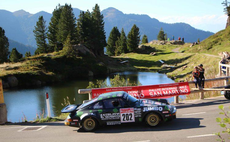 Historique Rallye San Martino 2021, la febbre a 37